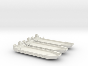 1/600 LCT-5 3 off in White Strong & Flexible