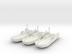 1/600 LCT-6 3 off in White Strong & Flexible