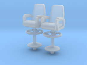 1:96 Captain/XO Navy Chair - Bridge/Wing in Frosted Ultra Detail