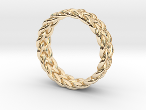 Celtic Knot Ring - size 9.5 (0.764 inch) in 14K Gold