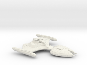 klingon scout in White Strong & Flexible