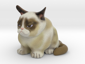 Grumpy Cat V2 in Full Color Sandstone