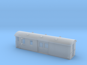 30ft Guards Van, New Zealand, (NZ120 / TT, 1:120) in Frosted Ultra Detail