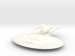 USS Elba in White Strong & Flexible Polished