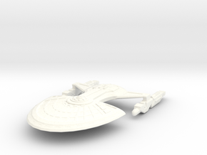 USS Garver in White Strong & Flexible Polished