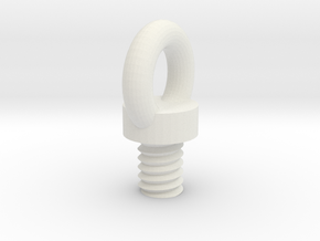 Safety Screw in White Strong & Flexible
