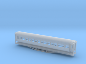 56ft 2nd Class, New Zealand, (HO Scale, 1:87) in Frosted Ultra Detail