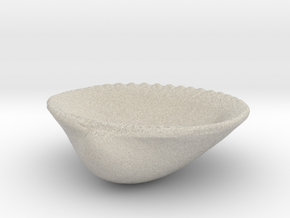 Palm Beach Sea Shell - 3 Inch Jewelry Dish in Sandstone