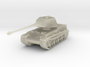 Vehicle- Löwe Tank (1/87th) in Transparent Acrylic