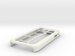 EMG iPhone Case in White Strong & Flexible