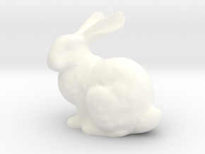 Bunnyr in White Strong & Flexible Polished