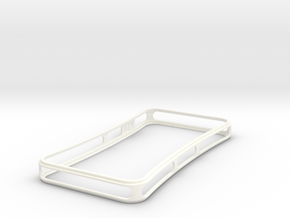 Brute for iPhone 4 - Thin but Tough in White Strong & Flexible Polished