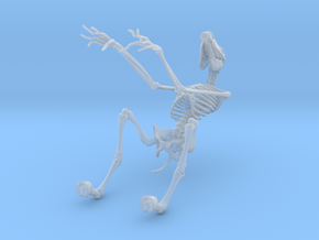 Tikbalang Skeleton in Frosted Ultra Detail