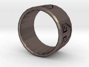 Earth Bender Ring in Stainless Steel