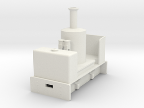 Gn15 vertical boiler loco  in White Strong & Flexible
