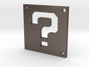 Question Block in Stainless Steel