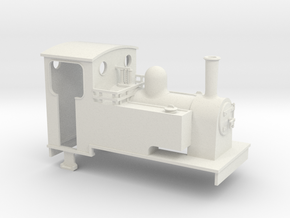1:35 scale side tank loco  in White Strong & Flexible