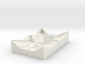 Star Paperweight V1 in White Strong & Flexible