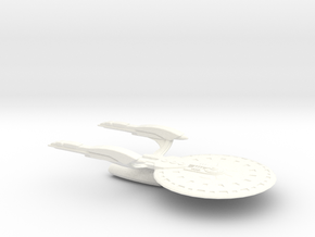 USS Danae in White Strong & Flexible Polished
