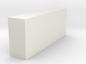 Veroclear 100x200x500 Mm in White Strong & Flexible