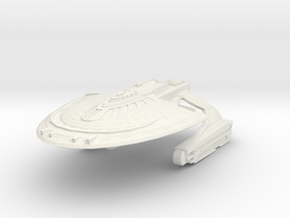 WildHorse Class Fast GunDestroyer in White Strong & Flexible
