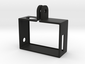 GoPro Hero3 Frame w/buttons in Black Strong & Flexible