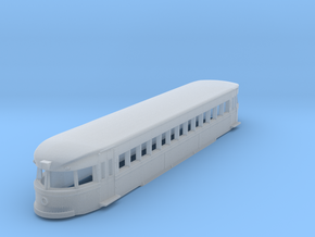 N Scale Brill Bullet Body Shell in Frosted Ultra Detail