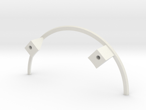 Apollo BPC LES Supports in White Strong & Flexible