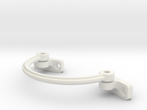 32 mm Arc - Cantilever Arm Assembly For 2mm Bolt & in White Strong & Flexible