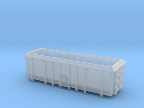 ASW Scrap Wagon PO-022a-d for N Gauge 1:148 in Frosted Ultra Detail