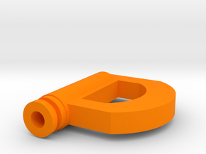 D Drip Tip in Orange Strong & Flexible Polished