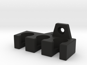 Cable Holder for Panasonic Monitor - LEFT in Black Strong & Flexible
