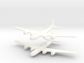 B-29 Superfortress (United States) 1/600-(Qty. 2) in White Strong & Flexible Polished