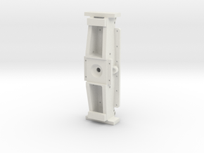 F46-Front Frame Bolster- 1-8th Scale in White Strong & Flexible