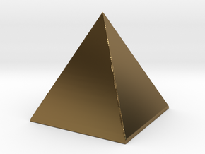 123DDesignDesktopSel in Polished Bronze