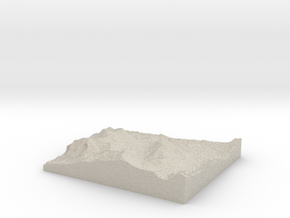 Model of Kirkwood in Sandstone