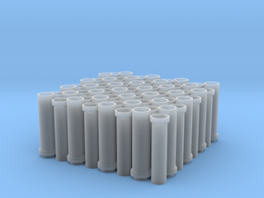 1:87 CONCRETE TUBES in Frosted Ultra Detail