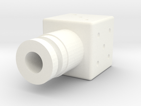 Dice Drip Tip V2 in White Strong & Flexible Polished