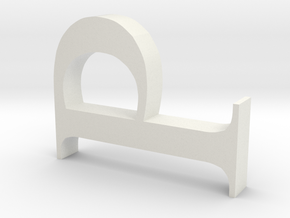 123DDesignDesktop in White Strong & Flexible