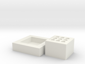 Nail Mold Final V1 in White Strong & Flexible