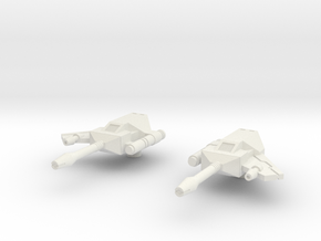 Rumble Frenzy Guns 01 - Solid in White Strong & Flexible