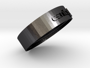URINE CUP TOP in Polished Grey Steel