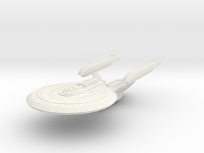 Essex Class Cruiser in White Strong & Flexible