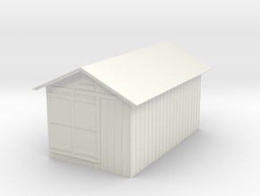 Standard Tool House - S in White Strong & Flexible