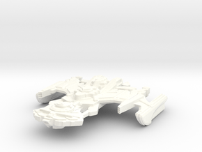 B'Rel Class Destroyer in White Strong & Flexible Polished