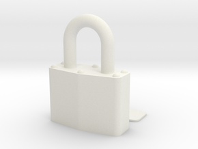 Lock in White Strong & Flexible
