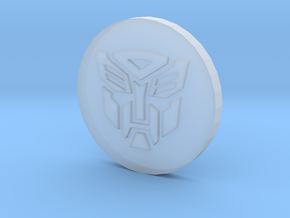 Faction Symbol - Herobot in Frosted Ultra Detail