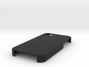 Stone IPhone 4S Case in Black Strong & Flexible