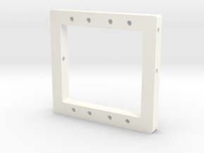 Servo Mount (TS-FM-0004) in White Strong & Flexible Polished