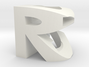RDB CUBE V0003 in White Strong & Flexible